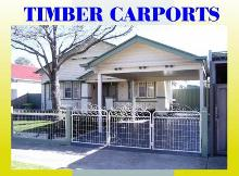 Timber Carports Melbourne
